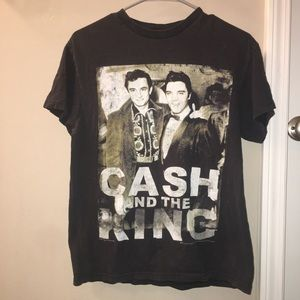 Cash and the king shirt